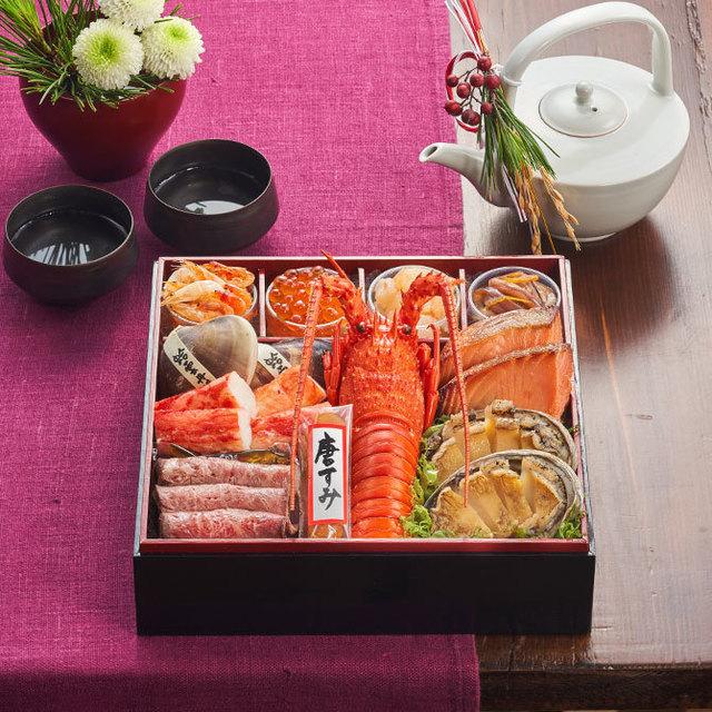 オイシックスのおせち料理、夫婦ふたりにおすすめする豪華海鮮系おせち!