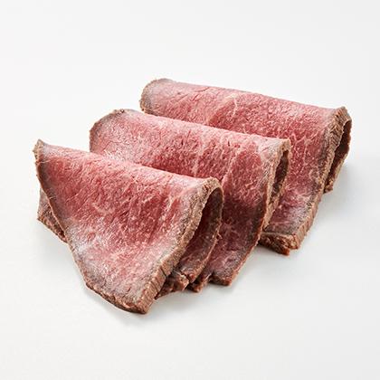 オイシックスのおせち料理『豪華海鮮オードブル 萬福』は夫婦ふたりにおすすめ 黒毛和牛のローストビーフ(ソース付)