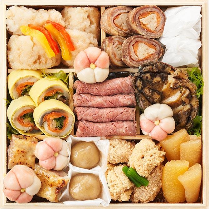 オイシックスのおせち料理『上高砂 豊』お得な早割で3,000円割引!三の重