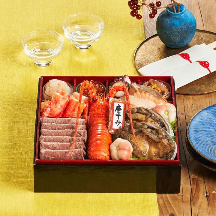 オイシックスのおせち料理の最新人気ランキング!売上ベスト3!豪華海鮮オードブル萬福